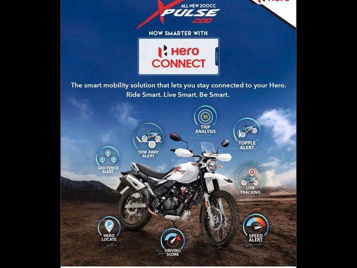 Hero Destini 125, Pleasure Plus, And XPulse 200 Get Connectivity Feature