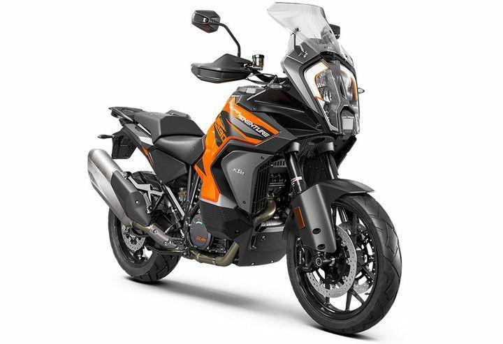 2021 KTM 1290 Super Adventure S orange