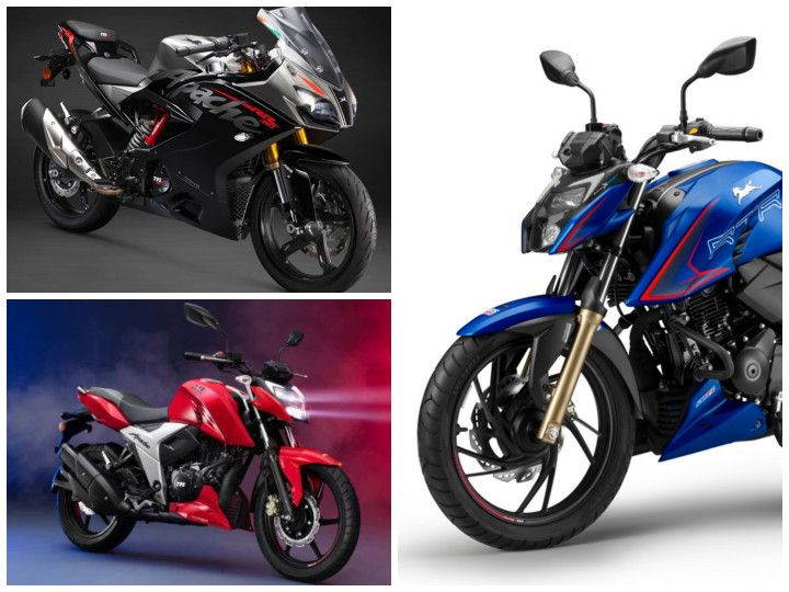 TVS Apache RTR 160, RTR 200 4V, And RR 310 Price Hiked For 2021