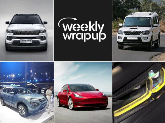 Top Car News India Tesla Model 3 Mahindra Scorpio Tata Gravitas 2021 Jeep Compass Bmw M5 Cs Zigwheels