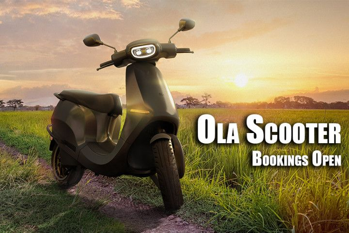 Ola Scooter Bookings Commence