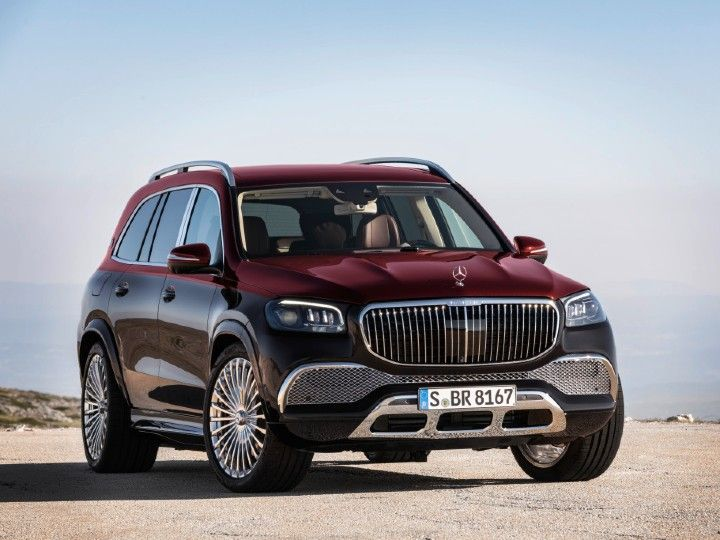 Mercedes-Maybach GLS SUV To Launch In India On June 8 2021 ...