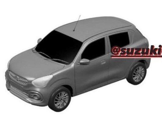 2021 Maruti Suzuki Celerio Design Leaked Via Patent Images ...