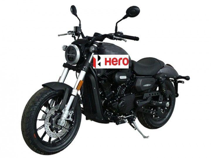 Hero 350cc cruiser