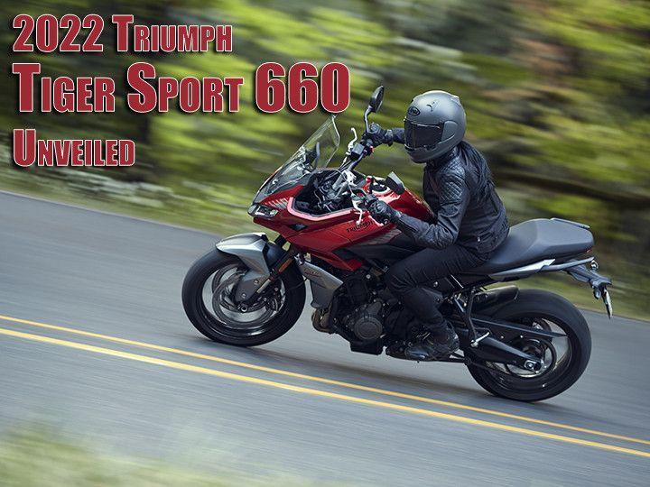 Triumph Tiger Sport 660 Unveiled