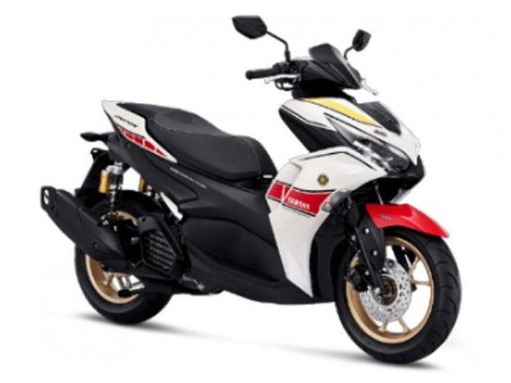 The Aerox 155 Gets Yamaha's World MotoGP 60th Anniversary Livery