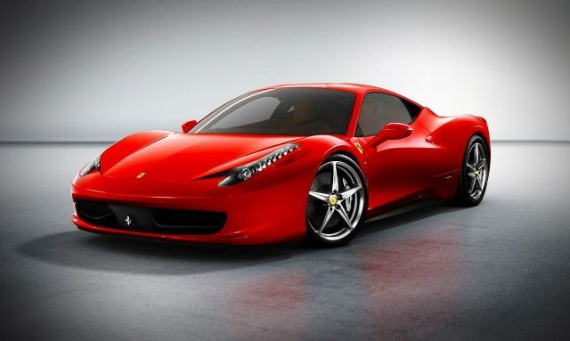 Ferrari 458 Italia Front View