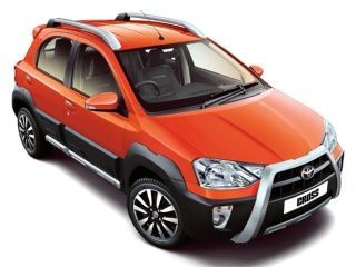 Toyota Etios Cross Side View