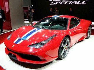 Ferrari 458 Special Front View