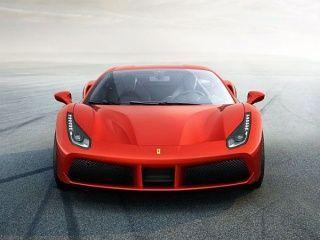 Ferrari 488 Front View