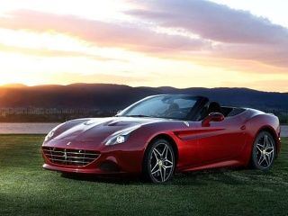 Ferrari California T Front Left Side One Third View