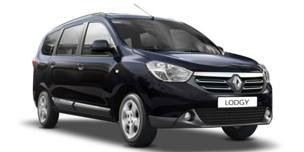 renault lodgy price check june offers images mileage. Black Bedroom Furniture Sets. Home Design Ideas