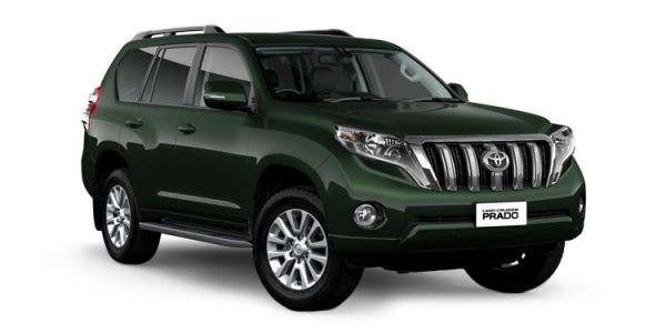 Toyota Land Cruiser Prado Price, Images, Mileage, Colours