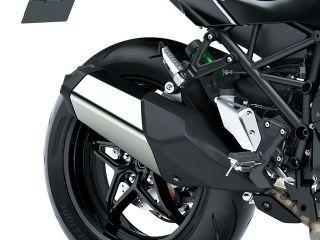 Ninja H2 SX Exhaust View