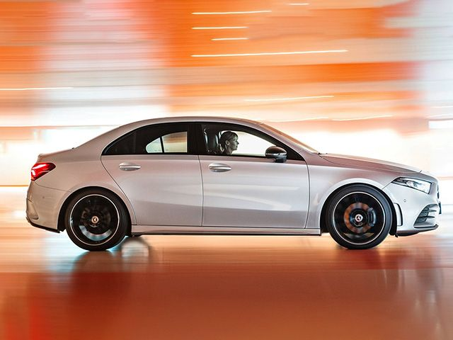 Mercedes-A-Class-Sedan-Drivers-Side-View