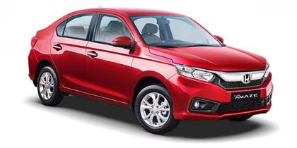 Honda Amaze On Road Price In Delhi