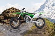 Lest Side View of KX 250
