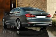 Rear 3/4 left Image of 7 Series