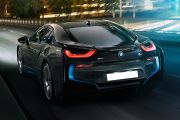 Rear 3/4 left Image of i8