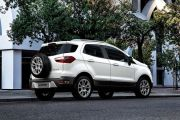 Rear 3/4 Right Image of EcoSport