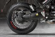Rear Tyre View of Griso 1200 8V