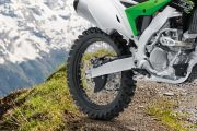 Rear Tyre View of KX 250