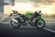 Right Side View of Ninja ZX-6R