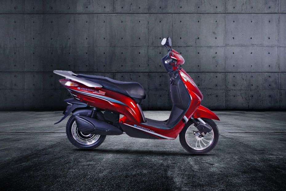 Right Side View of E Scoot