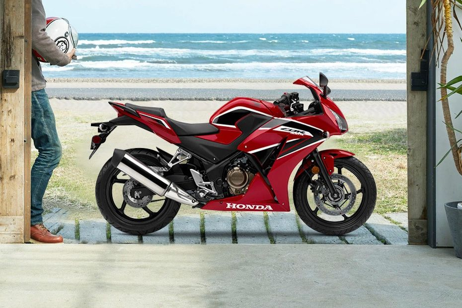 Right Side View of CBR300R