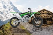 Right Side View of KX 250