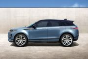Side view Image of Range Rover Evoque 2019