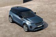 Top view Image of Range Rover Evoque 2019