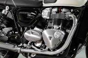 Engine of Bonneville T100