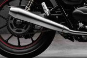 Exhaust View of Street Twin