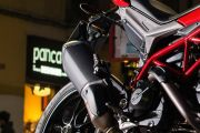 Exhaust View of Hypermotard