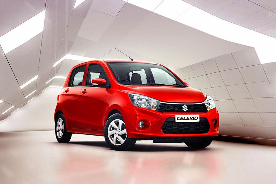 Front 1/4 left Image of Celerio