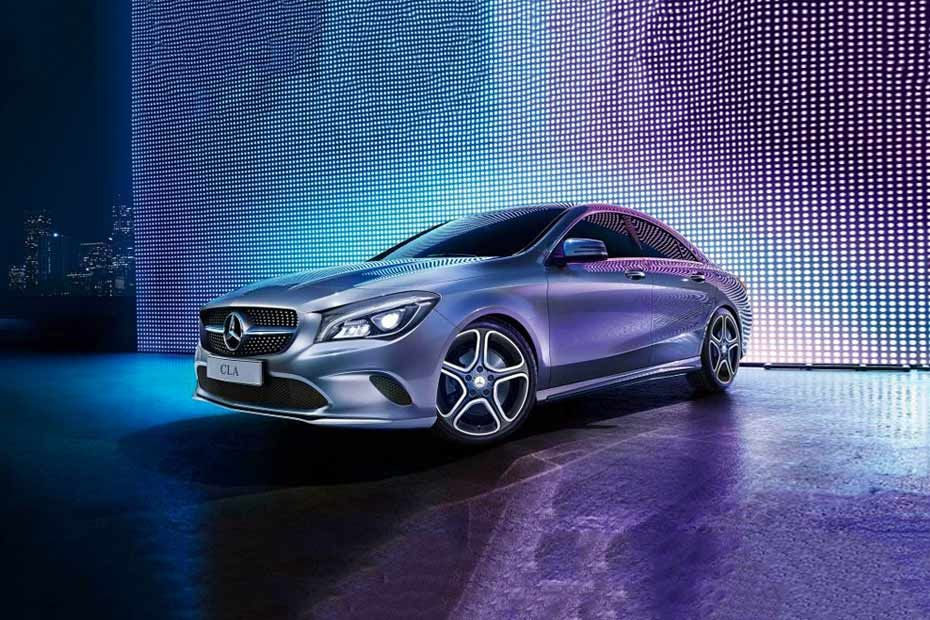 Front 1/4 left Image of CLA