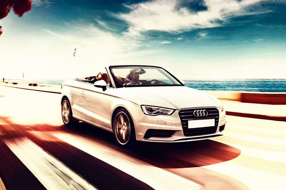Front 1/4 left Image of A3 cabriolet
