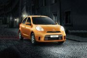 Front 1/4 left Image of Micra Active