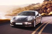 Front 1/4 left Image of Panamera