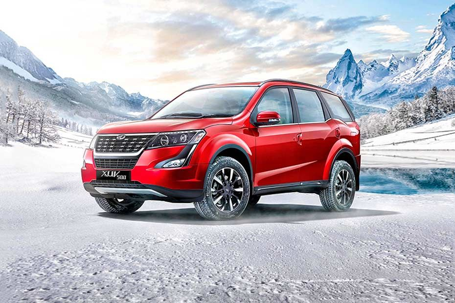 Front 1/4 left Image of XUV500
