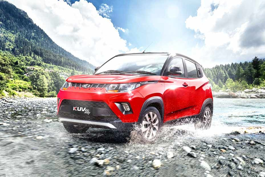 Front 1/4 left Image of KUV100 NXT
