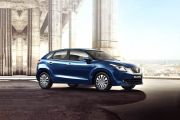 Front 1/4 left Image of Baleno