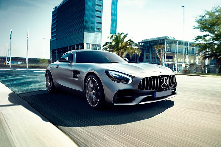 Front 1/4 left Image of AMG GT