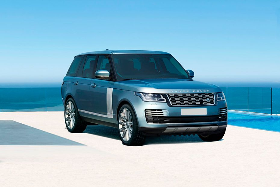 Front 1/4 left Image of Range Rover