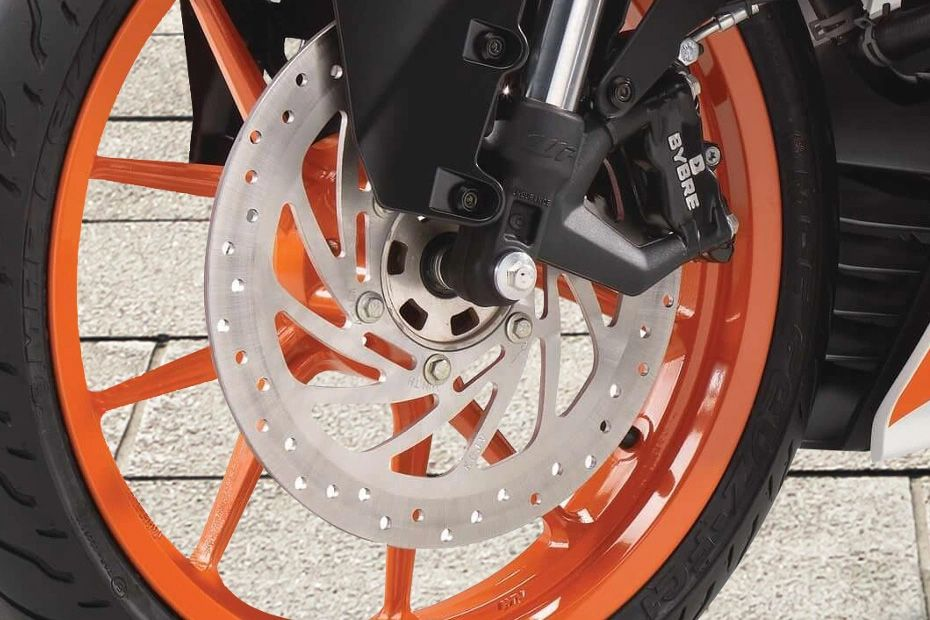 Front Brake View of RC 200