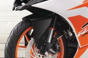 Front Mudguard & Suspension of RC 200