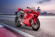 Front Right View of Panigale V4