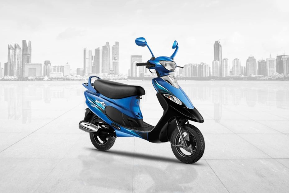 Front Right View of Scooty Pep Plus