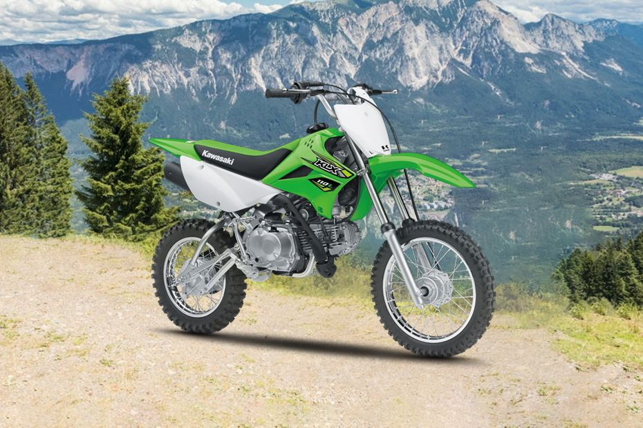 Front Right View of KLX 110